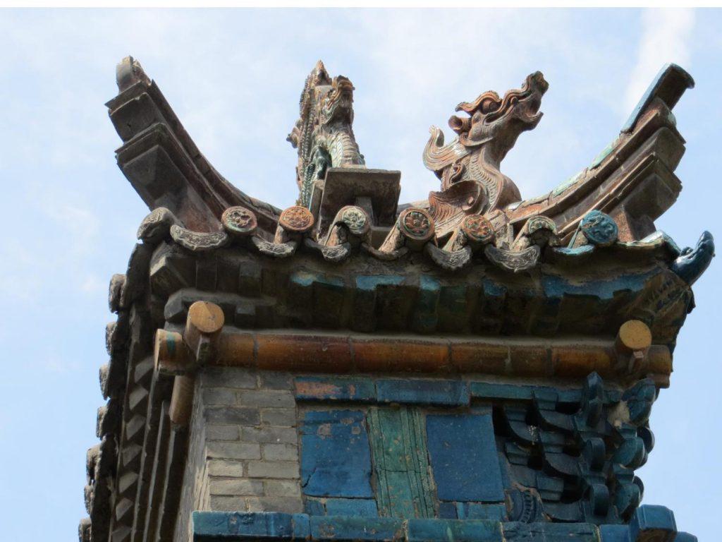 Mural de la Dinastia Ming, de 8 metros de altura, por 45 de largo y dos de ancho
