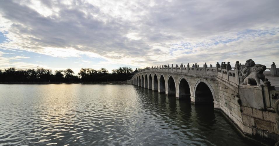 lago kunming puente de los arcos