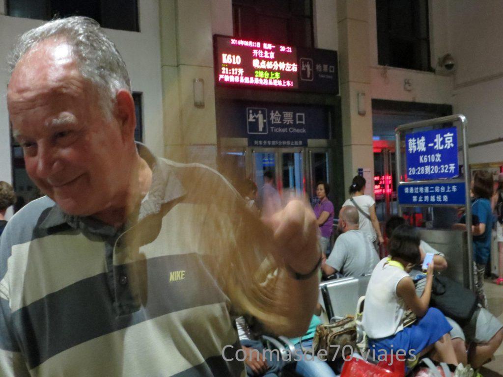 Tren nocturno a Xian