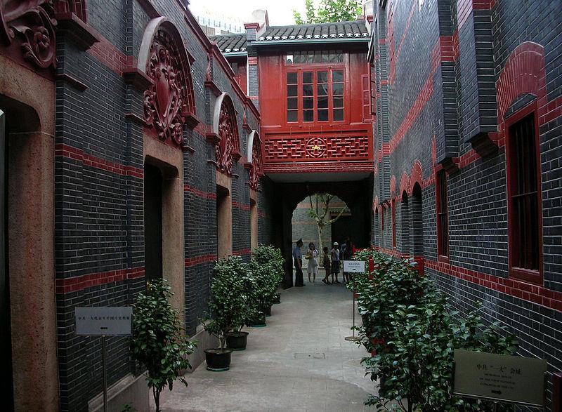 casas bajas de estilo colonial denominadas shikumen