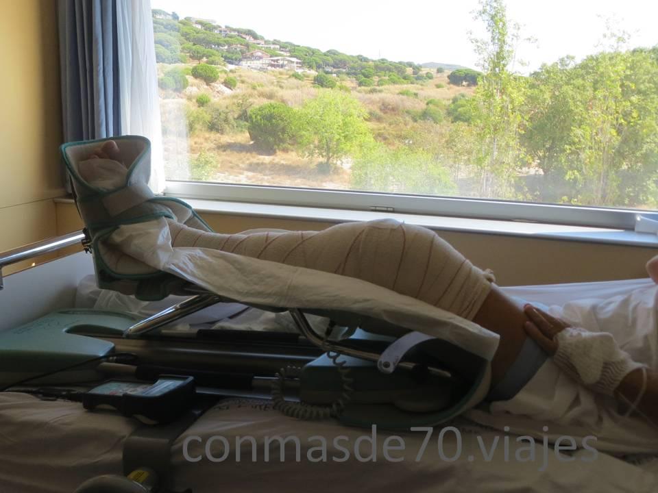 Entretenimientos - rehabilitación y mirar por la ventana