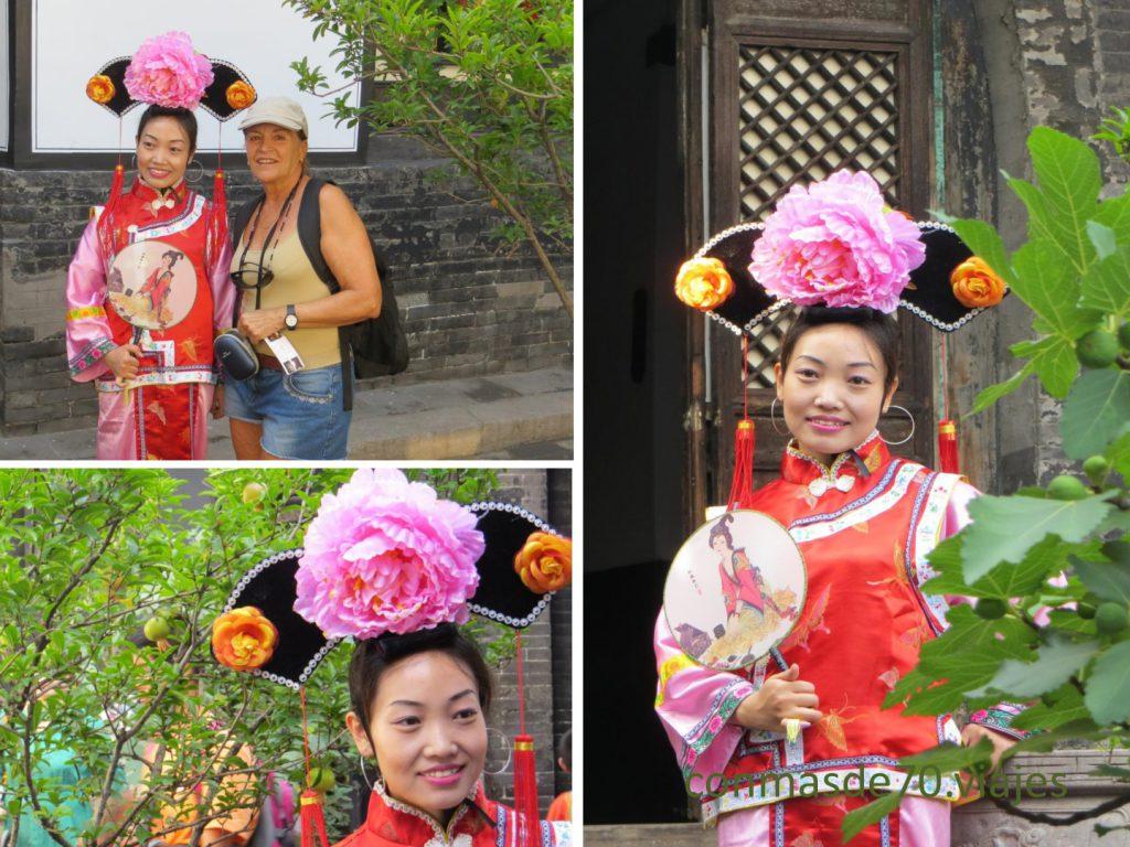 ¡El traje tradicional es precioso!