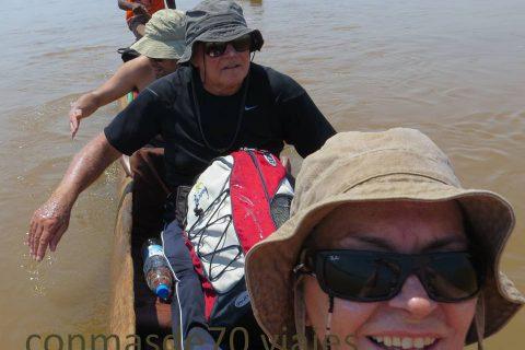 Madagascar/Miandrivazo/Descenso por el río Tsiribihina