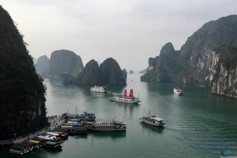 Vietnam/Hanoi-Bahía de Halong-sudeste asiático