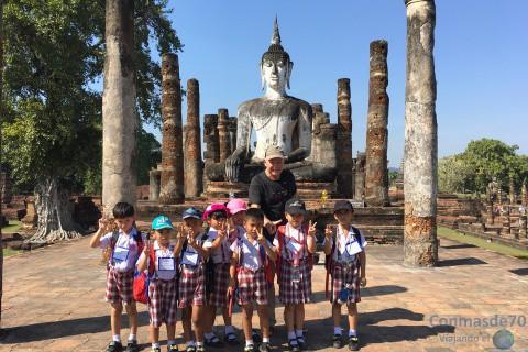 Tailandia/Sukhothai-Ayutthaya-sudeste asiático