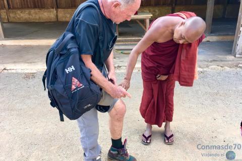 Myanmar/Trekking de Kalaw a lago Inle-sudeste asiático
