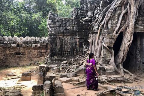Camboya/Siem Reap/Angkor-sudeste asiático