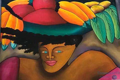 La pintura dominicana en la calle